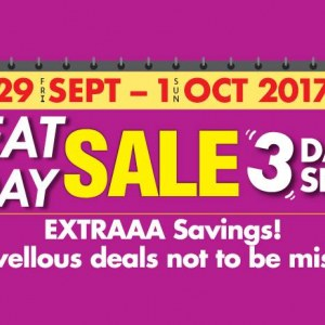 AEON Stores Great Friday Sale - Up To 70% Discounts