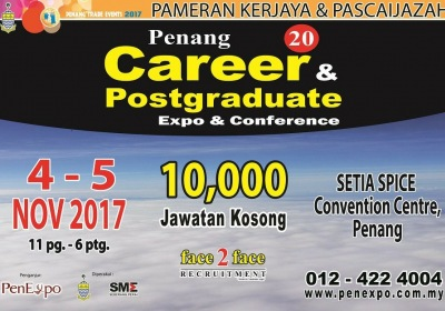 20th Penang Career Postgraduate Expo & Conference