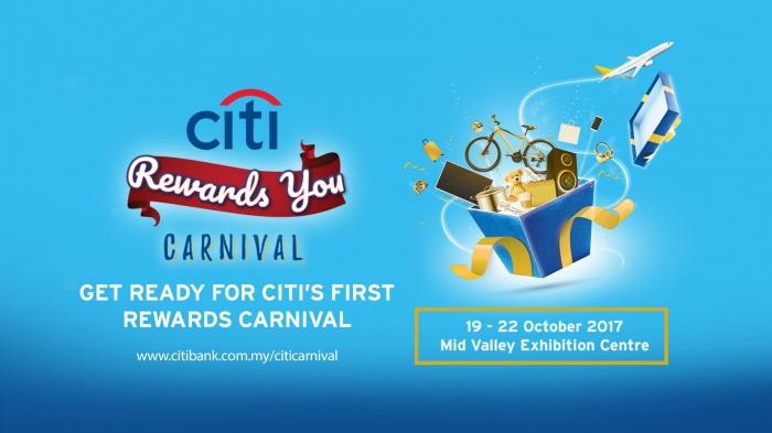 'Citi Rewards You' Carnival 2017