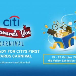 'Citi Rewards You' Carnival 2017