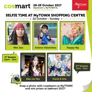 Cosmart 2017 by Comic Fiesta