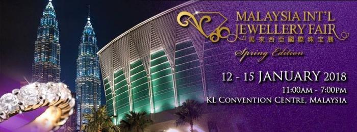 Malaysia International Jewellery Fair - Spring Edition (MIJF SE) 2018
