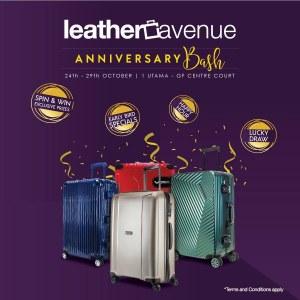 Leather Avenue Anniversary Bash Sale