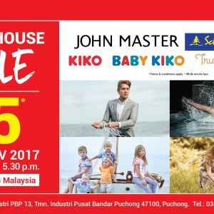 Warehouse Sales (KIKO, BABY KIKO, Trudy & Teddy, John Master)
