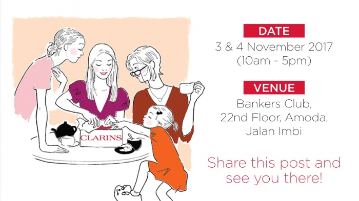 Clarins Friends and Family Sale