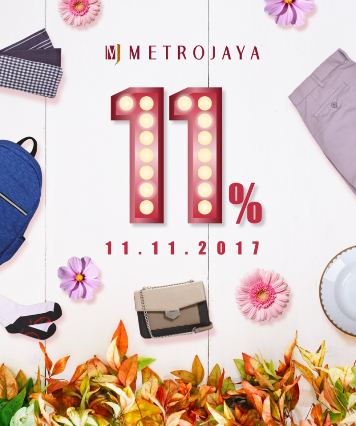 Metrojaya Double 11 Storewide Sale
