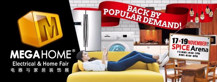 Megahome Electrcial & Home Fair 2017 (Penang)
