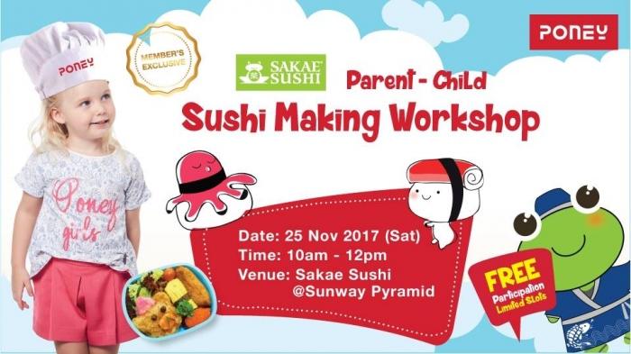 FREE Parent-Child Sushi Making Workshop