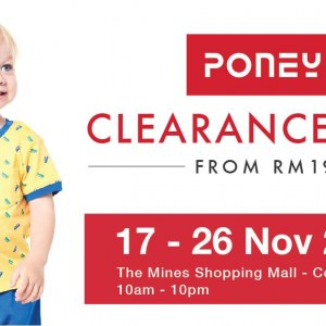 Poney Clearance Fair - Sale From RM19 (The Mines)