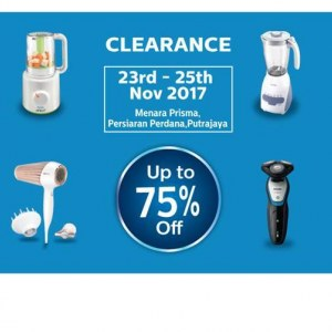 Philips Warehouse Clearance - Up To 75% OFF