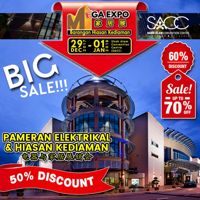 Where to buy cheaper furniture? Let's go to Mega Expo Shah Alam
