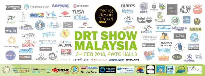 Diving Resort Travel Expo - DRT Show Malaysia 2018