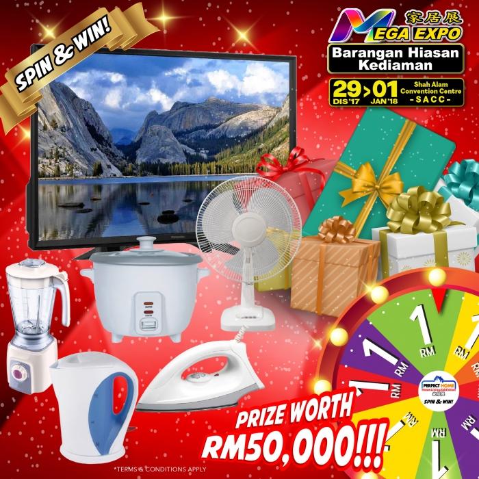 Spin & Win at Mega Expo Shah Alam!!!