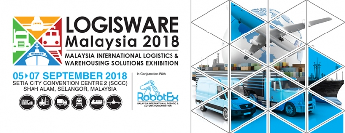3rd Malaysia International Logistics & Warehousing Solutions Exhibition - LogisWare 2018