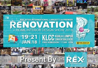 Malaysia International REX Home Renovation & Interior Design Show 2018 - REX Expo 2018