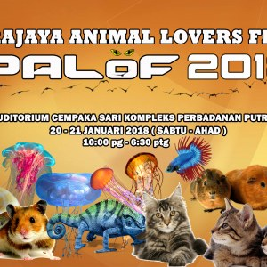 Putrajaya Animal Lovers Fiesta - PALOF 2018