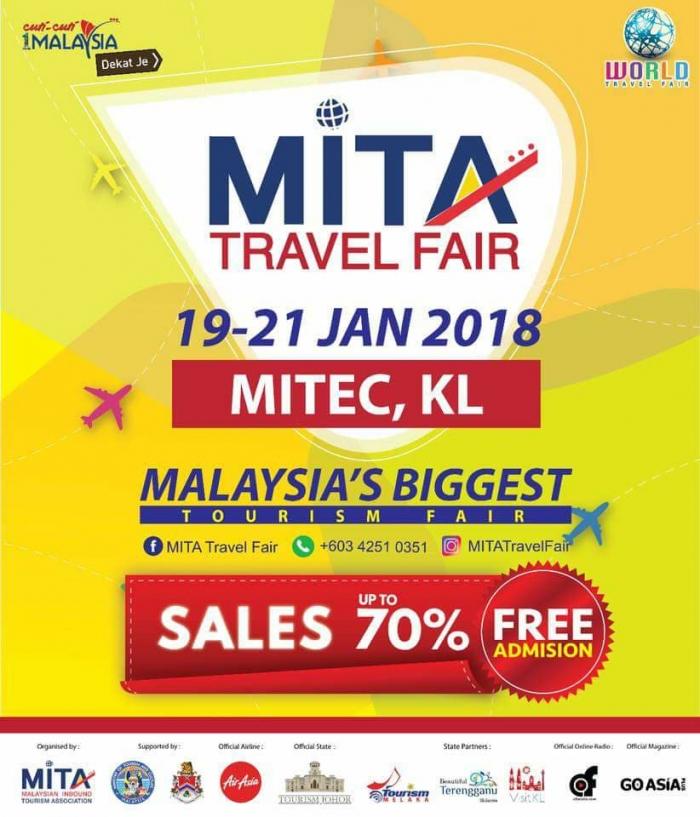 MITA Travel Fair 2018 + Malaysia Food Festival