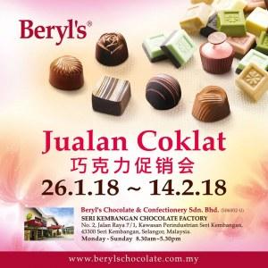 Beryl's Chocolate Chinese New Year Sale 2018