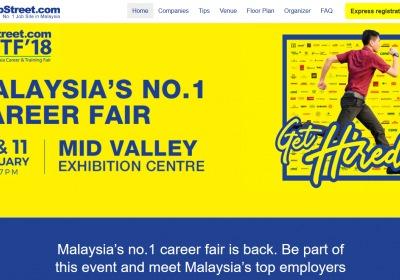 20th Jobstreet Malaysia Career & Training Fair - MCTF 2018