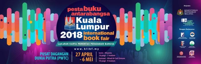 Pesta Buku Antarabangsa Kuala Lumpur - KL International Books Fair 2018