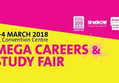 HiredNow Career & Internship Fair - Mega Career & Study Fair 2018