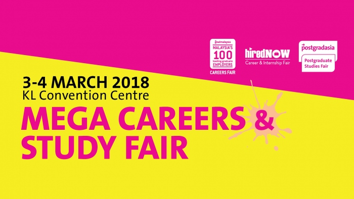 HiredNow Career & Internship Fair - Mega Career & Study Fair 2018