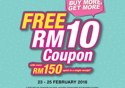 KL Sogo Buy More Get More - Free Rm10 Coupon
