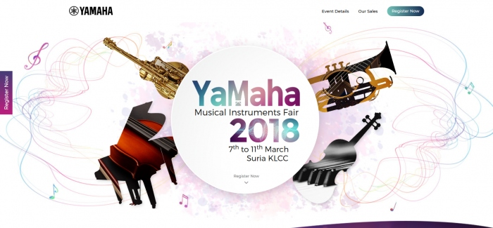 Yamaha Musical Instruments Fair 2018