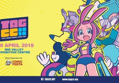 Toys Anime Games Comic Con - TAGCC 2018