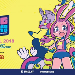 Toys Anime Games Comic Con - TAGCC 2018