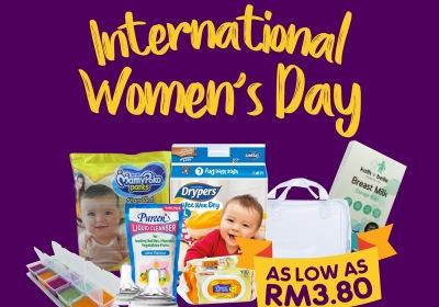 Motherhood.com.my International Women's Day Sale
