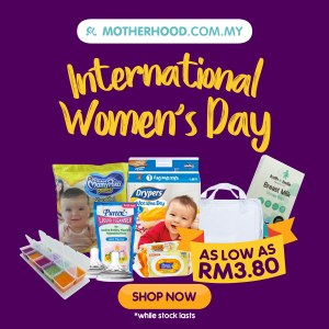Motherhood.com.my International Women's Day Sale