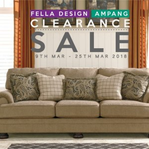Fella Design Ampang Clearance Sale - Discounts Up To 50%