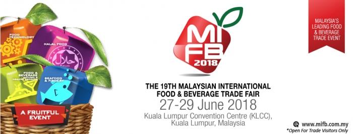 19th Malaysian International Food & Beverage Trade Fair - MIFB 2018