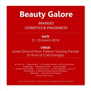 Beauty Galore @ Parkson Subang Parade