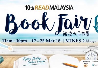 10th Read Malaysia Book Fair 2018