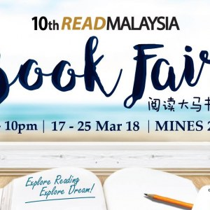 10th Read Malaysia Book Fair 2018
