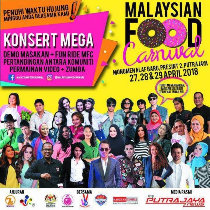 Malaysian Food Carnival 2018 @ Putrajaya