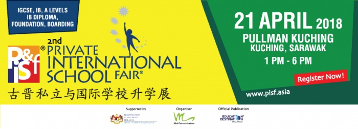 2nd Private International School Fair in Kuching