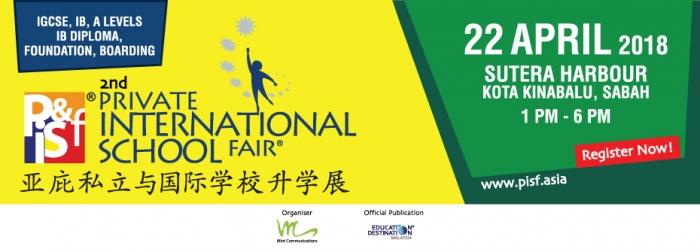 2nd Private International School Fair in Kota Kinabalu