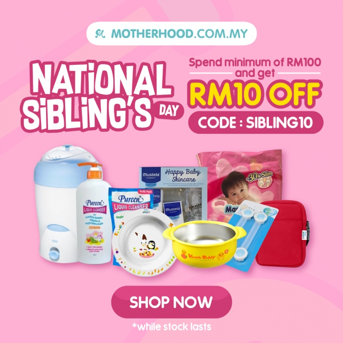 Motherhood.com.my National Sibling's Day Sale