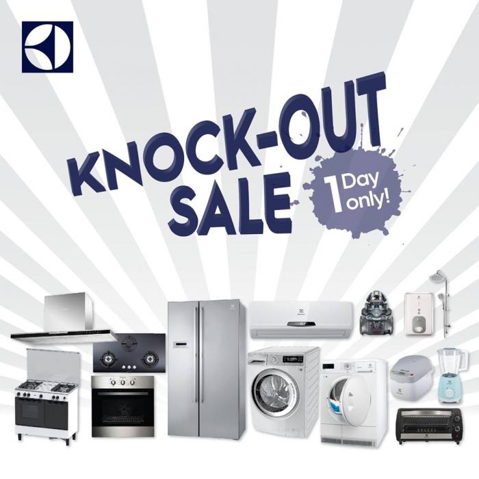Electrolux Knock-Out Sale April 2018