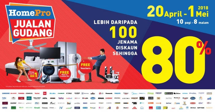 HomePro Warehouse Sale 2018