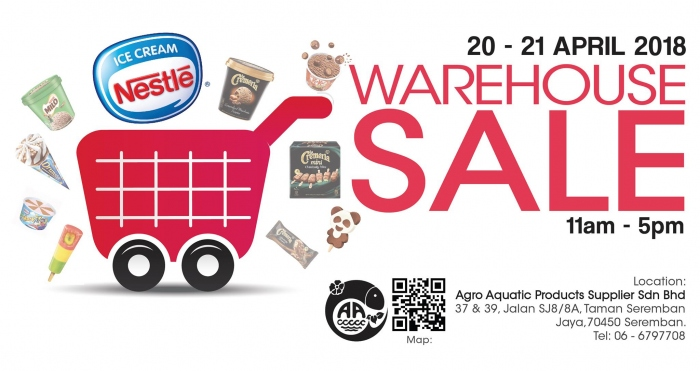 Nestle Ice-cream Warehouse Sale
