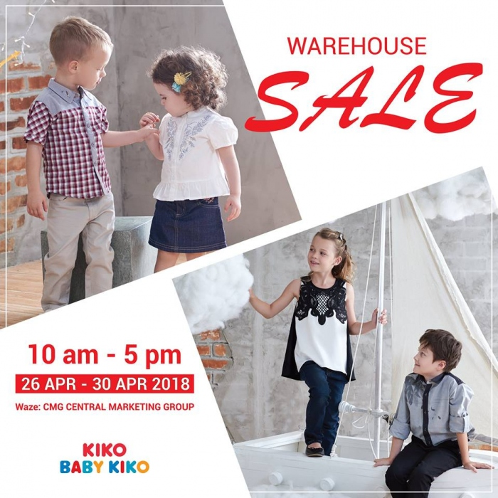 Baby Kiko Warehouse Sale - Deals As Low As RM5