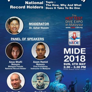 Malaysia International Dive Expo - MIDE 2018
