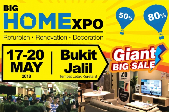 BIG HOMExpo 2018 - Refurbish Renovation Decoration