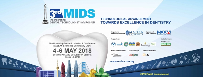 Malaysia International Dental Show - MIDS 2018
