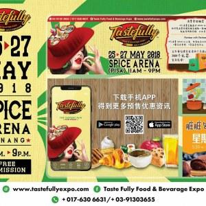 Taste Fully Food & Beverage Expo Penang 2018