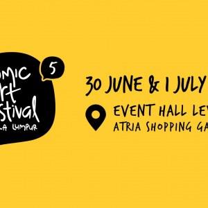 Comic Art Festival Kuala Lumpur 5 - CAFKL5 2018